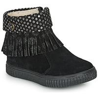 Chaussures Fille Boots Catimini PERETTE Noir