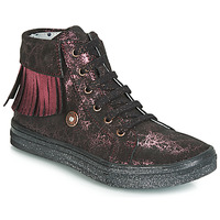 Chaussures Fille Baskets montantes Catimini LOULOU Noir / Rose