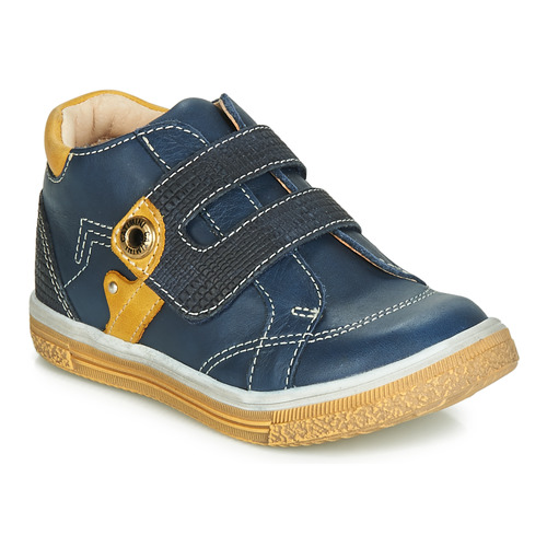 Chaussures Garçon Baskets montantes Catimini BICHOU Marine / Moutarde