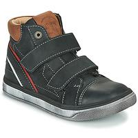 Chaussures Garçon Baskets montantes Catimini ROBBY Noir