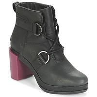 Chaussures Femme Bottines Sorel MARGO LACE Noir