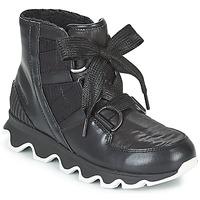 Chaussures Femme Bottes de neige Sorel KINETIC™ SHORT LACE Noir