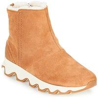 Chaussures Femme Bottes de neige Sorel KINETIC SHORT Camel