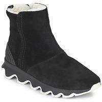Chaussures Femme Bottes de neige Sorel KINETIC™ SHORT Noir