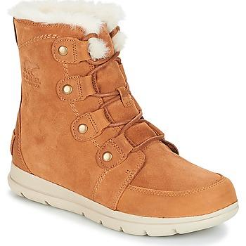 Chaussures Femme Boots Sorel SOREL EXPLORER JOAN Camel