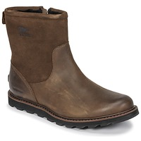 Chaussures Homme Boots Sorel MADSON ZIP WATERPROOF Marron