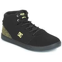 Chaussures Enfant Baskets montantes DC Shoes CRISIS HIGH SE B SHOE BK9 Noir / Vert