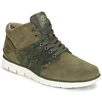 Chaussures Homme Baskets montantes Timberland Bradstreet Half Cab Kaki
