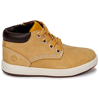 Baskets montantes enfant Timberland Davis Square Leather Chk