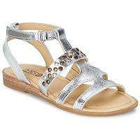 Chaussures Fille Sandales et Nu-pieds Mod'8 JADE Argent