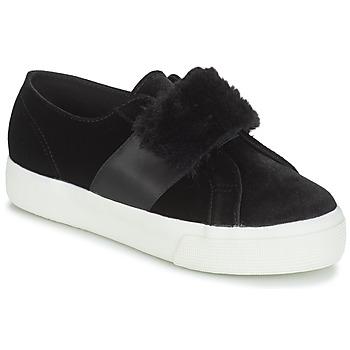 Chaussures Femme Baskets basses Superga 2750-LEAPATENTW Noir
