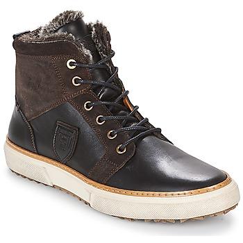 Chaussures Homme Baskets montantes Pantofola d'Oro BENEVENTO UOMO FUR MID Marron