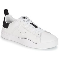 Chaussures Homme Baskets basses Diesel S-CLEVER LOW Blanc / Noir
