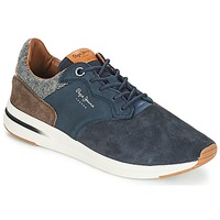 Chaussures Homme Baskets basses Pepe jeans Jayker Marine