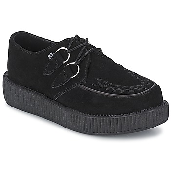 Chaussures Derbies TUK LOW FLEX ROUND TOE CREEPER Noir