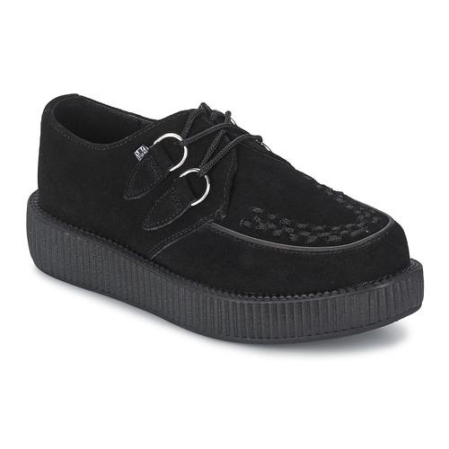 Chaussures Derbies TUK LOW FLEX ROUND TOE CREEPER Noir