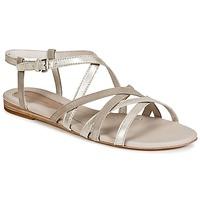 Chaussures Femme Sandales et Nu-pieds Marc O'Polo PRAVA Beige / Argent