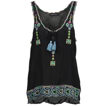 Vêtements Femme Débardeurs / T-shirts sans manche Antik Batik SANAH Noir