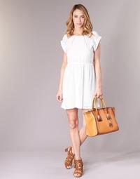 Vêtements Femme Robes courtes Moony Mood INDI Blanc