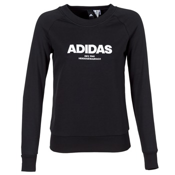 Vêtements Femme Sweats adidas Originals ESS ALLCAP SWT Noir