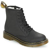 Chaussures Fille Boots Dr Martens SERENA JUNIOR Noir