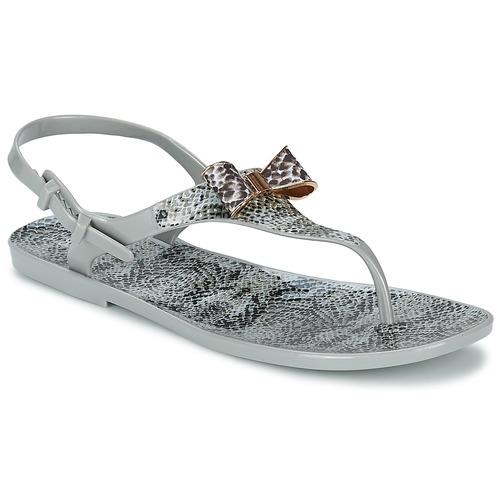 Chaussures Femme Sandales et Nu-pieds Colors of California SNAKE SANDAL GREY