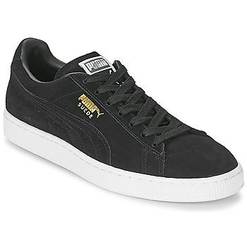 Chaussures Baskets basses Puma SUEDE CLASSIC Noir