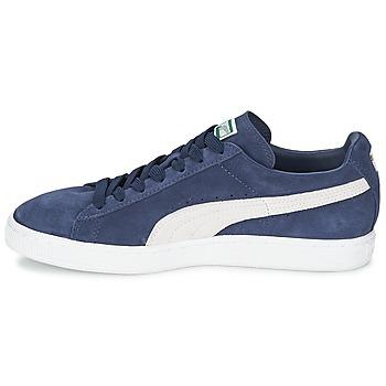 Puma SUEDE CLASSIC Bleu / Blanc