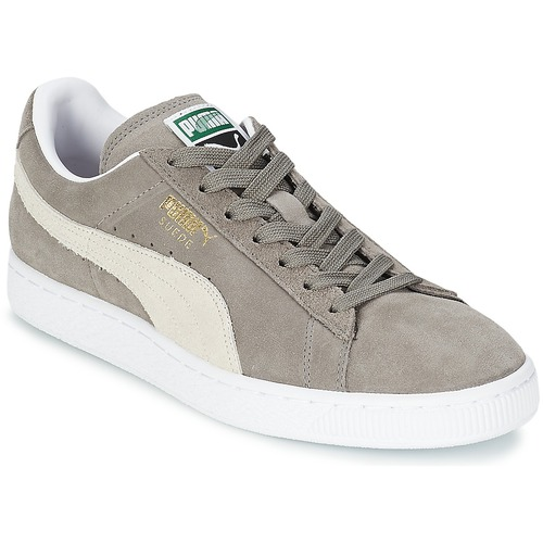 Chaussures Baskets basses Puma SUEDE CLASSIC + Gris