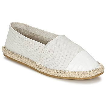Chaussures Femme Slip ons Elia B CHICA WHITE
