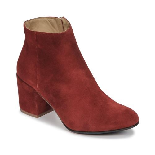 Chaussures Femme Bottines Emma Go ELNA Rouge