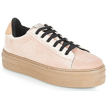 Chaussures Femme Baskets basses Victoria DEPORTIVO TERCIOPELO/CARAM Beige