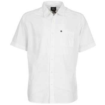 Vêtements Homme Chemises manches courtes Quiksilver EVERYDAY SOLID SS Blanc