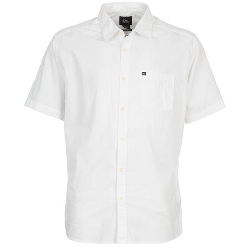Vêtements Homme Chemises manches courtes Quiksilver EVERYDAY SOLID SS Blanc