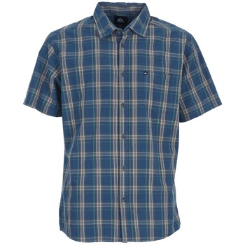 Quiksilver EVERYDAY CHECK SS Bleu