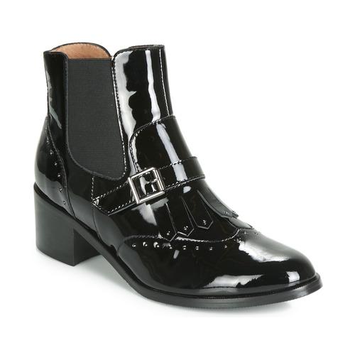 Chaussures Femme Bottines Karston GLEFI Noir