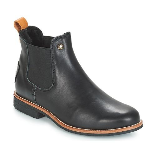 Chaussures Femme Boots Panama Jack GIORDANA Noir