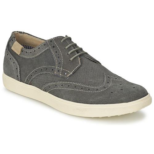 Chaussures Homme Derbies BKR LAST FRIDO Gris