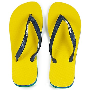 Chaussures Tongs Havaianas BRASIL LAYERS Jaune