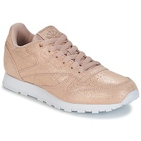 Chaussures Fille Baskets basses Reebok Classic CLASSIC LEATHER J Doré