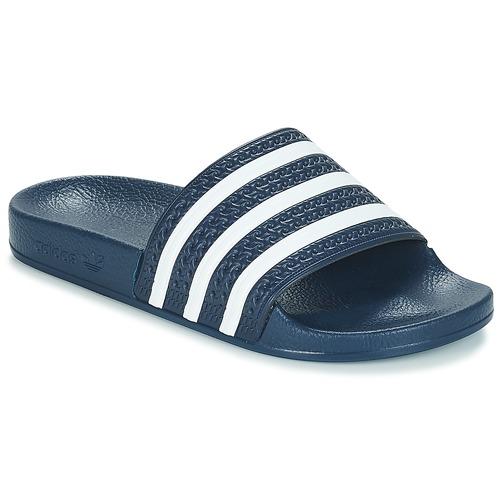 Chaussures Claquettes adidas Originals ADILETTE Marine / blanc