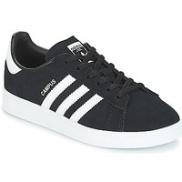 Chaussures Enfant Baskets basses adidas Originals CAMPUS C Noir