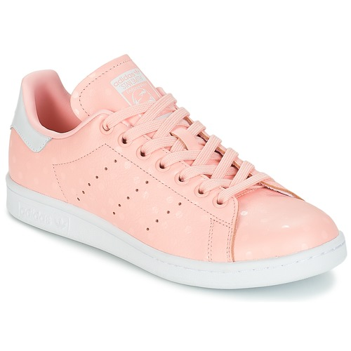 authentic official lower price with adidas Originals STAN SMITH W Rose - Chaussure pas cher avec Shoes ...