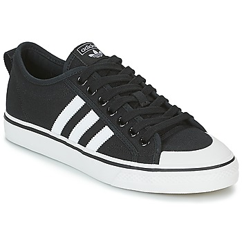 Chaussures Baskets basses adidas Originals NIZZA Noir / Blanc