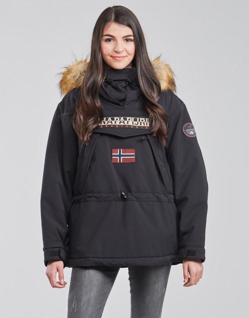 Vêtements Femme Parkas Napapijri SKIDOO Noir