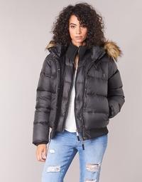 Vêtements Femme Doudounes Schott MAYDAY Noir