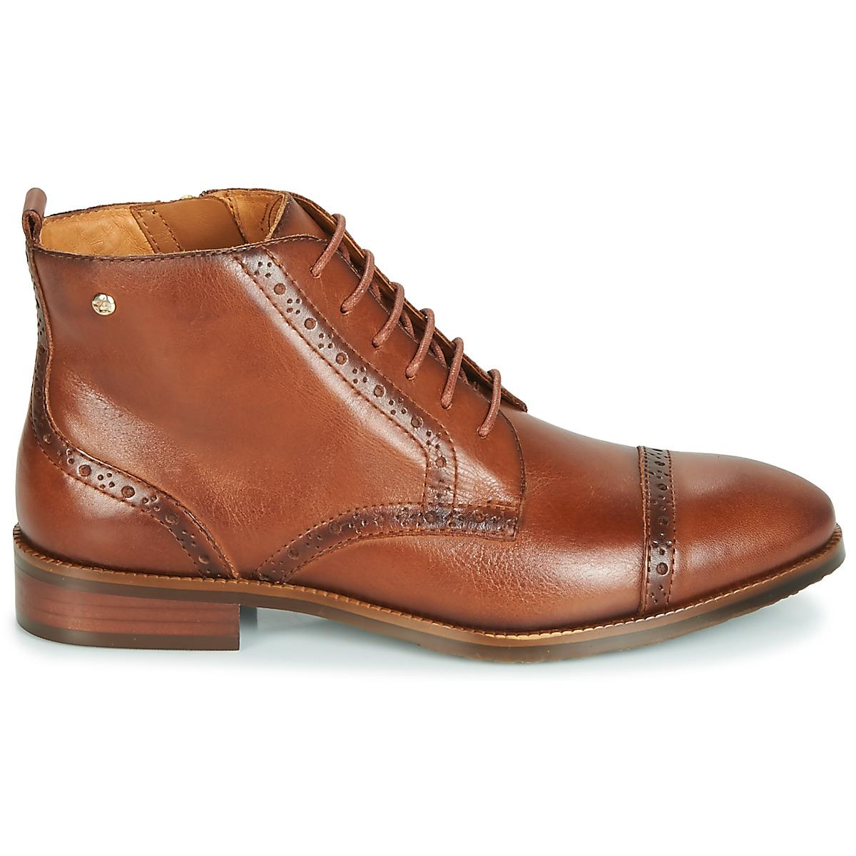 Boots royal marron pikolinos