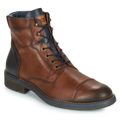 Chaussures Homme Boots Pikolinos YORK M2M Marron / Marine