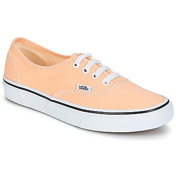 Chaussures Femme Baskets basses Vans AUTHENTIC Beige