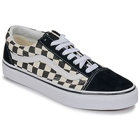 Chaussures Baskets basses Vans OLD SKOOL Blanc / Noir